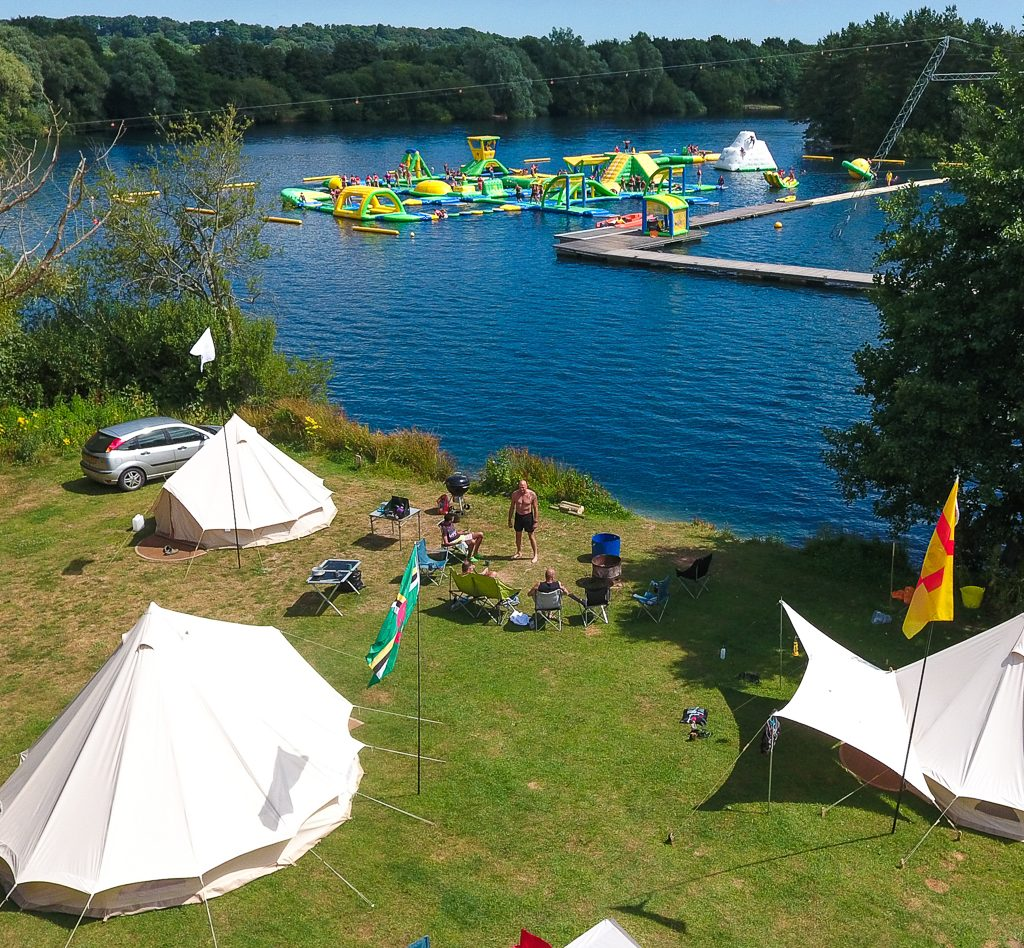 Camping | New Forest Water Park